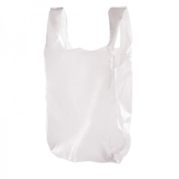 Large White Carrier Bags (Pack of 1000)