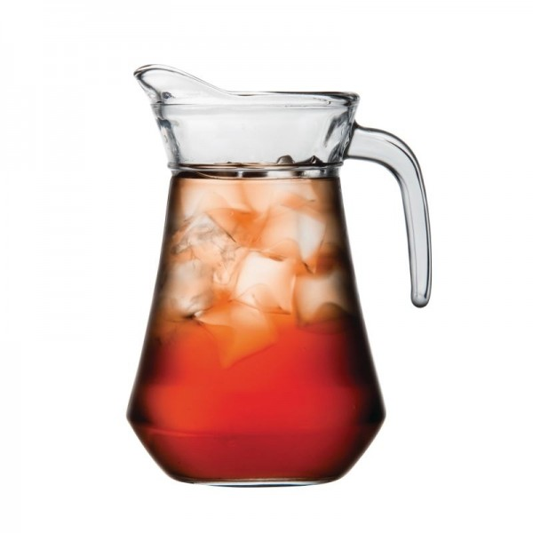 Olympia GF923 1 Litre Glass Jugs (Pack of 6)