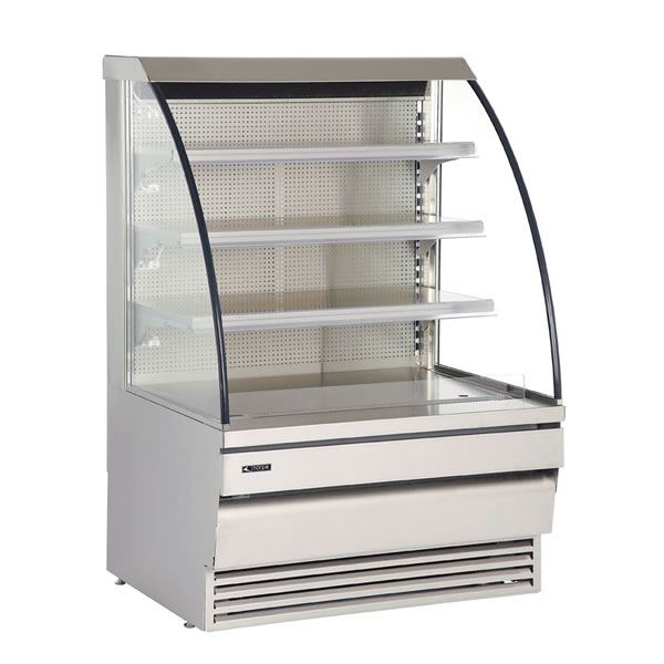 Norpe Norcon-120-M-STS 1.2m Stainless Steel Low Height Multideck