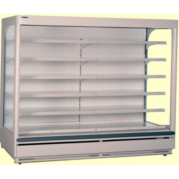 Norpe Euromax-195-M-STS 2m Low Front Stainless Steel Multideck
