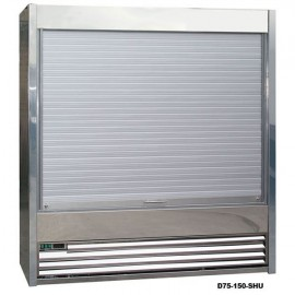 Frost Tech SD75-130-SHU 1.3m Stainless Steel Shutter Multideck