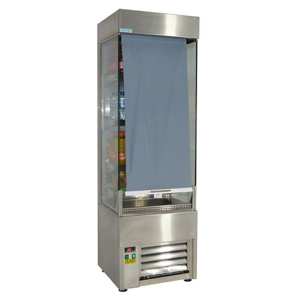Frost Tech SD60-60 0.6m Slimline Stainless Steel Multideck