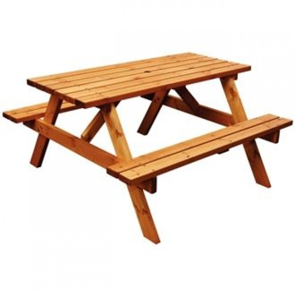 Anchor Fast DM014 Six Seater Picnic Bench
