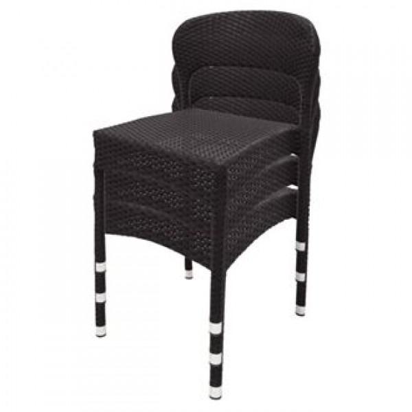 Bolero CB062 Wicker Side Chairs (Pack of 4)