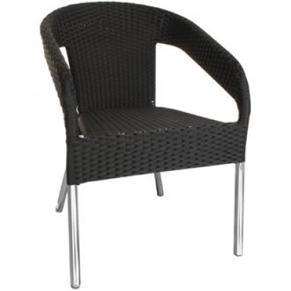 Bolero CG223 Wicker Wraparound Bistro Chair