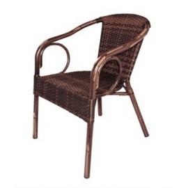 Bolero CB061 Wicker Armchair (Pack of 4)