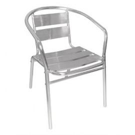 Bolero U419 Aluminium Stacking Chair (Pack of 4)