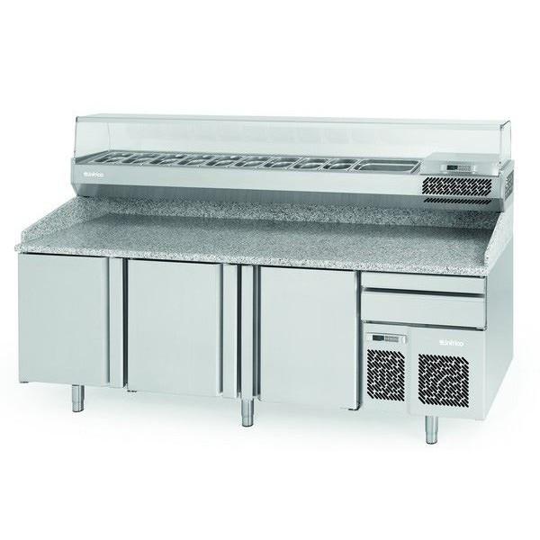 Infrico MP1740CRISTAL 1.8m Pizza Counter