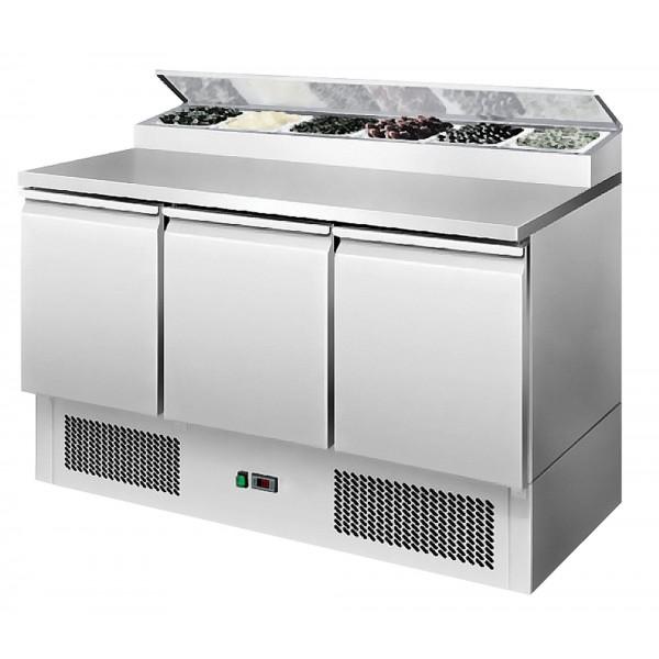 Interlevin ESS1365G 1.4m Gastronorm Preparation Counter