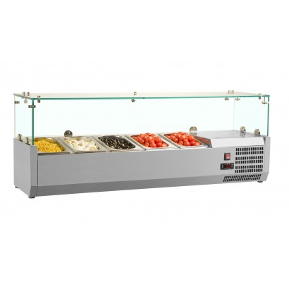 Interlevin VRX1800/380 Gastronorm Topping Shelf
