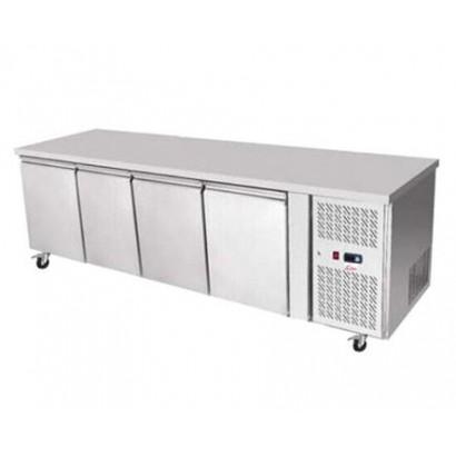 Valera C74-TN 1/1 GN Four Door Worktable Counter