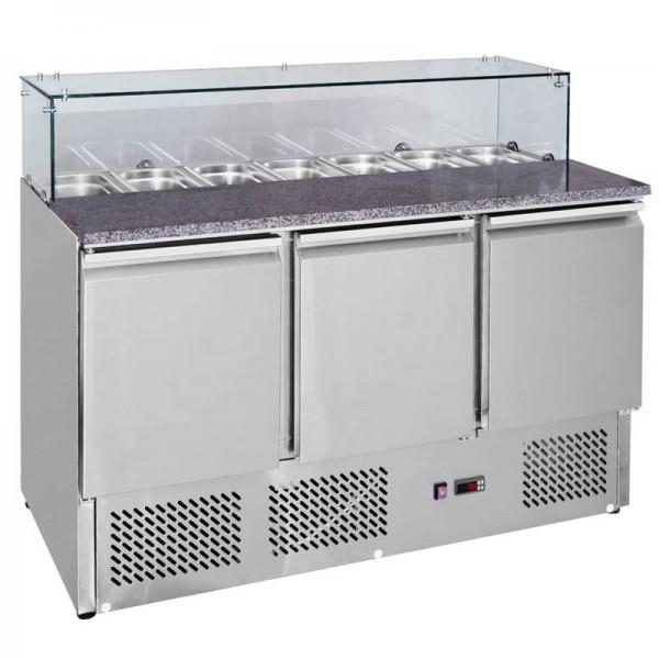 Interlevin EPI1365G 1.4m Gastronorm Preparation Counter