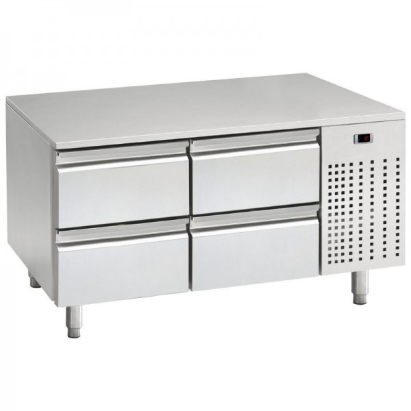 Mercatus U1-1200 1.2m Low Height Stainless Steel Gastronorm Counter