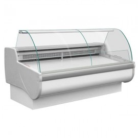 Igloo Tobi 140 1.4m Curved Glass Serve Over Counter