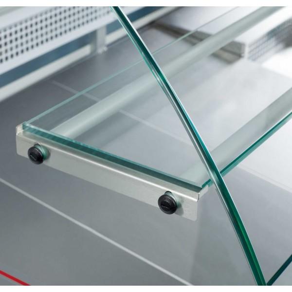 Igloo Tobi 110 1.0m Curved Glass Serve Over Counter