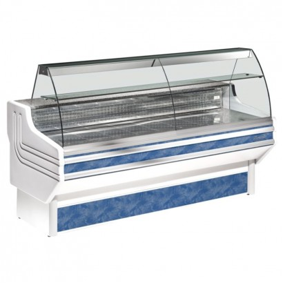Zoin Jinny 1.0m Curved Glass Serve Over Counter