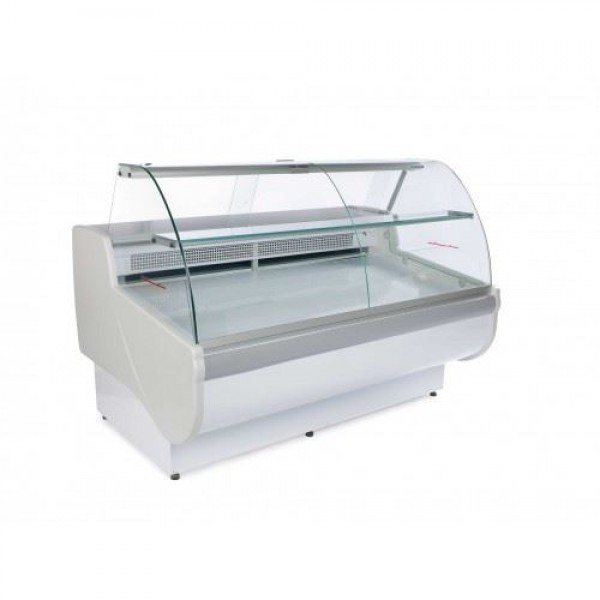 Igloo Tobi 170 1.7m Curved Glass Serve Over Counter