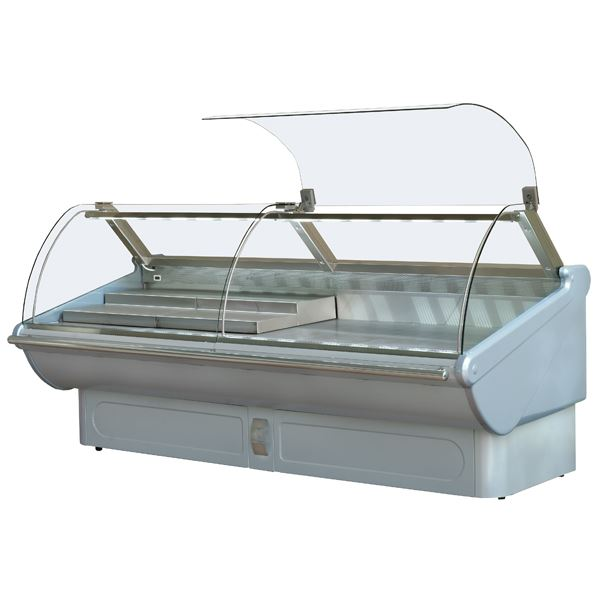 ES System K Tucana TUC187 Curved Glass Serve Over Counter