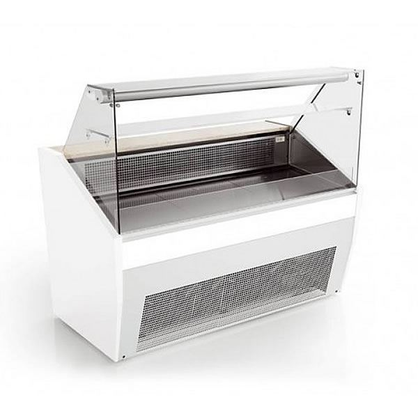 Valera PRONTO FG128 1.3m Flat Glass Serve Over Counter
