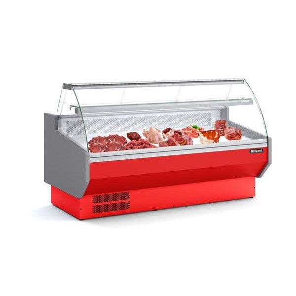 Blizzard SIGMA 25C 2.5m Meat Temperature Serve Over Counter