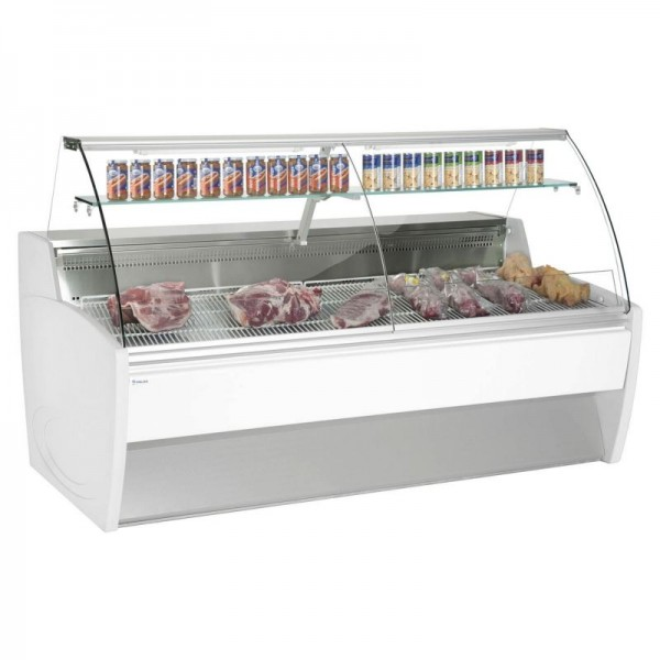 Frilixa Maxime 25 2.5m Fresh Meat Curved Glass Serve Over Counter