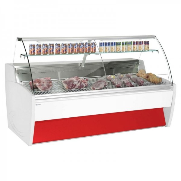 Frilixa Maxime 20 2.0m Fresh Meat Curved Glass Serve Over Counter