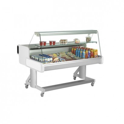 Frilixa Celebrity 100 1m Flat Glass Mobile Counter Display