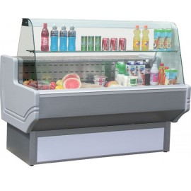 Blizzard SHAD150 1.5m Curved Glass Serve Over Counter