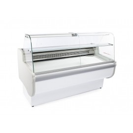 Igloo Rota 130 1.3m Slimline Curved Glass Serve Over Counter