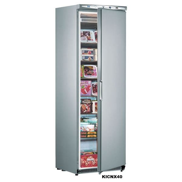 Mondial Elite NX40 340 Litres Stainless Steel Upright Storage Freezer