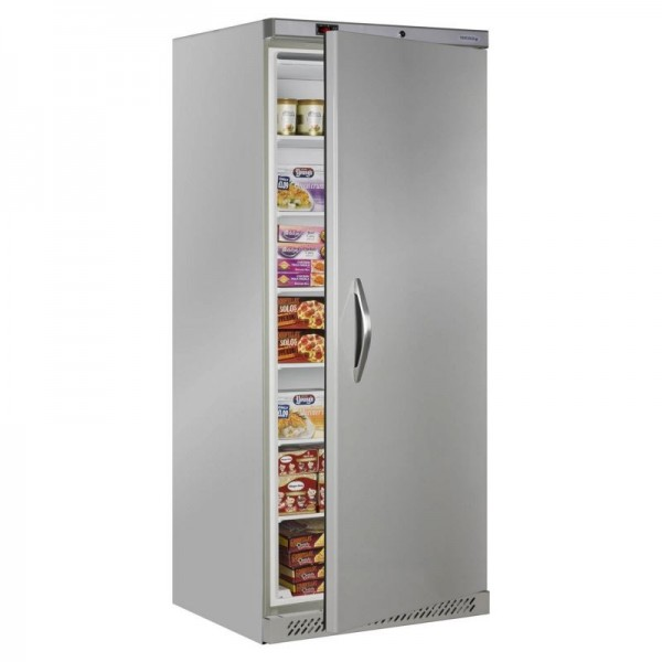 Tefcold UF600S 600 Litre Upright Stainless Steel Storage Freezer
