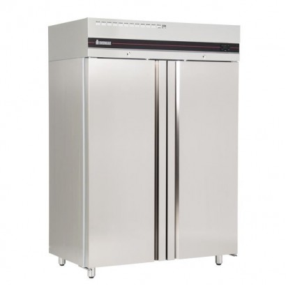 INOMAK CES2144/SL 1152 Litre Slimline Double Door Storage Fridge