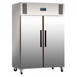 Polar G594 1200 Litre Double Door Stainless Steel Storage Fridge
