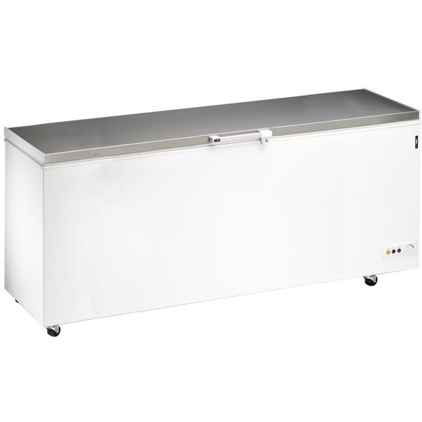 Blizzard SL70 2m Stainless Steel Lid Chest Freezer