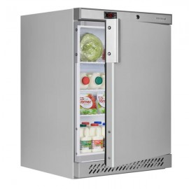Tefcold UR200S 130 Litre Single Door Stainless Steel Undercounter Fridge