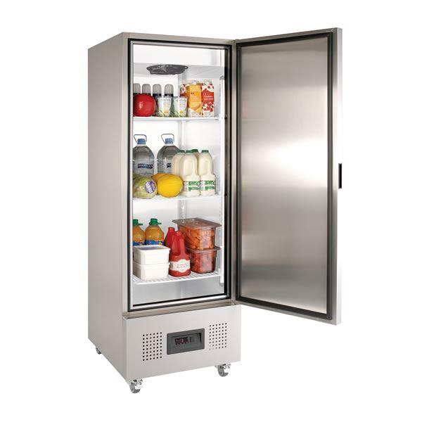 Foster FSL400H 400Ltr Slimline Single Door Storage Fridge