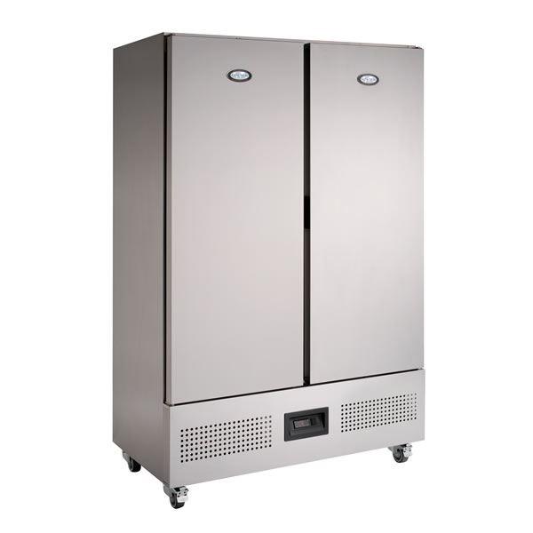 Foster FSL800H 800Ltr Slimline Double Door Storage Fridge