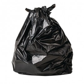 Jantex CD509 Bio Degradable Black Bags (Pack of 200)
