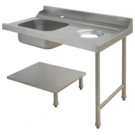 Maidaid Right Hand Sink with Scrap Hole