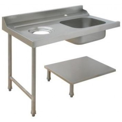 Maidaid Left Hand Sink with Scrap Hole