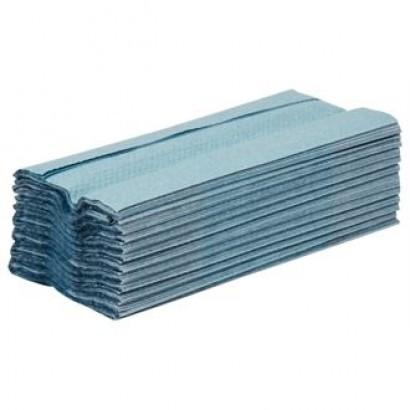 Jantex GD832 Blue C-Fold Hand Towels (Pack of 15)