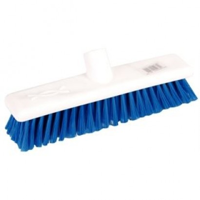"Jantex DN829 12"" Soft Hygiene Blue Broom Head"