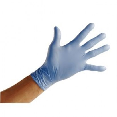 Nitrile Powder-Free Gloves (Pack of 100)