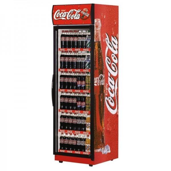 Super 76 Branded Coke Glass Door Display Chiller