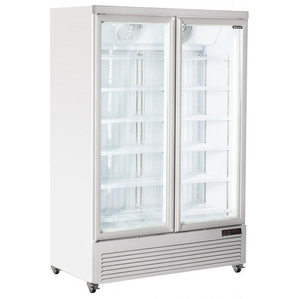 Blizzard DN800 Double Door Display Freezer