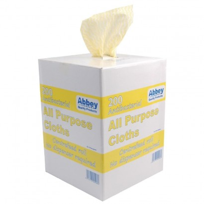 Yellow Antibacterial All Purpose Cloth