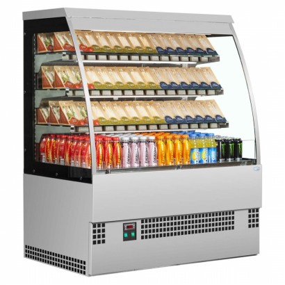 Interlevin EVO900 SS Self Serve Low Height Multideck Chiller