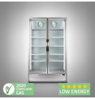 Husky F10PRO Double Door Display Freezer