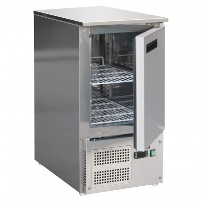 Polar FA442 88ltr Single Door Saladette Fridge