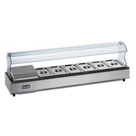 Lincat FDB6-SSG6 6 Pan Self Service Food Display Bar